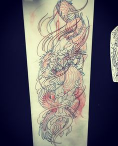 Amsterdam TATTOO 1825  KURIKARA DRAGON  JAPANESE TATTOO DESGIN