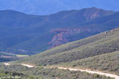 Take a short drive on the Vergelegen Road towards De Rust to see the famous Red Hills in the Klein Karoo. Ostriches, World Famous, Nature Reserve, Natural Wonders, Ecology, Outdoor Activities, Grand Canyon, Rust, Places To Go