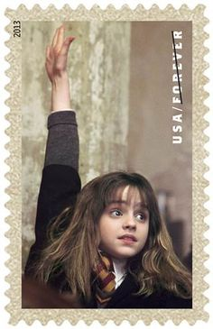 Harry Potter Stamps.