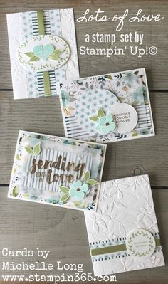 Hi friends! how are you today? Have you heard about the Stamp of the Month Club here at Stampin' 365? Each month, club members receive a fabulous Stampin' Up! stamp set and all the paper supplies t…