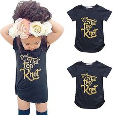 2016 Summer Kids Baby Girls Gold Letter Tee Toddler Girl Cotton Short Sleeve T-shirt Tops Clothes 2-7Y #>=#>=#>=#>=#> Click on the pin to check out discount price, color, size, shipping, etc. Save and like it!