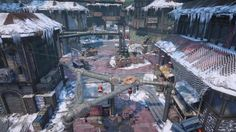 Gears of War 4 - Old Town Multiplayer Map Flythrough Get a look at the re-imagined map from Gears of War 3 March 07 2017 at 08:40PM  https://www.youtube.com/user/ScottDogGaming
