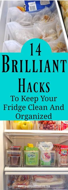 20 Brilliant Hacks To Keep Your Fridge Clean And Organized Obviously keeping your Fridge Clean And Organized will save you time. Time from looking and digging. It will also save you money. Lost items in the fridge Freezer Organization, Refrigerator Organization, Kitchen Organization, Organization Hacks, Organizing Ideas, Organising, Dollar Store Organization, Clean Fridge, Fridge Cleaning