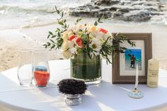 The ceremonial table can be a reflection of you as a couple #DreamsSandsCancun #Mexico #Destinationwedding