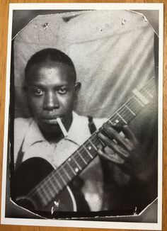 There are only 2 known pictures of blues pioneer Robert Johnson. One of them was taken in a photo booth early . Jazz Blues, Blues Music, Blues Artists, Music Artists, Robert Johnson, Delta Blues, I Love Music, Blues Rock, Thing 1