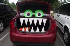 Trunk Or Treat Decorating Ideas | Related Trunk or Treat Car Ideas for Halloween Gatherings