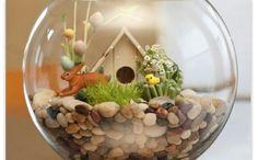 Bunny fish bowl