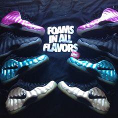 Nike Air Foamposite One #sneakers #nike #foamposite