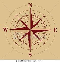 Vector - Compass Rose - stock illustration, royalty free illustrations, stock clip art icon, stock clipart icons, logo, line art, EPS picture, pictures, graphic, graphics, drawing, drawings, vector image, artwork, EPS vector art