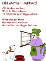 Old Mother Hubbard ideas