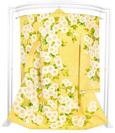 JY: Silk Kimono Chrysanthemums