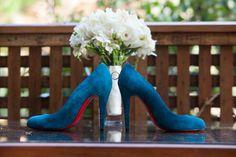 Blue suede!      http://www.a-dreamwedding.com/