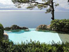 giardino e piscina, portofino