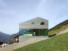 Val d'Entremont House by Savioz Fabrizzi Architectes