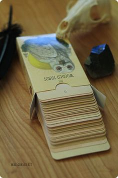 The Wooden Tarot Full Deck PRE-ORDERS skullgarden on Etsy, $30.00