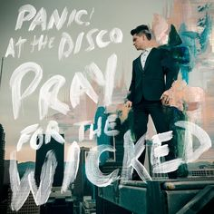 At the Disco Song Lyrics High Hopes - Panic! At the Disco video Panic! At the Disco Lyrics Panic! At the Disco Song Panic! At The Disco, Panic At The Disco Lyrics, Disco Cd, Brendon Urie, Music Album Covers, Music Albums, Green Day, Emo Bands, Music Bands