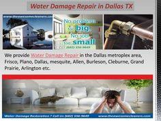 Water Damage Repair in Dallas TX Water Damage Repair, Grand Prairie, Dallas, Restoration