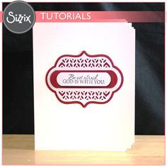 Sizzix Tutorial | Ornate Labels Card by Tami Mayberry
