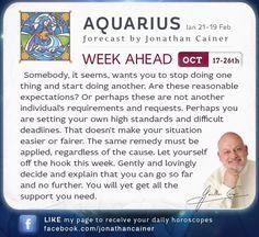 cainer astrology aquarius