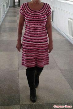 ". ""Turquoise Vanessa"" or second dress based on Vanessa Montoro - all in openwork ... (crochet) - Home Moms"