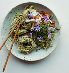 Anna Jones's recipes for peanut noodles and double ginger soba