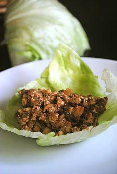 Tofu Lettuce Wraps like PF Changs! Sounds gross but it is so heavenly!
