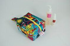Olly Octopus Ripstop Medium Wash Box Bag  by LottieDeanBags