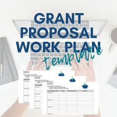 Download the free grant proposal work plan to organize your grant proposals. no sign-up required. Grant Proposal Writing, Grant Writing, Agriculture Grants, Disability Grants, Free Grants, Apply For Grants, Masters Thesis, Best Small Business Ideas, Small Business Organization