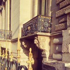 Gold details of Paris. #architecture #classic #travel