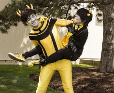 Psiionic and Mituna- Homestuck cosplay