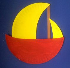 Crafts For Preschoolers: Sailing Away With Max