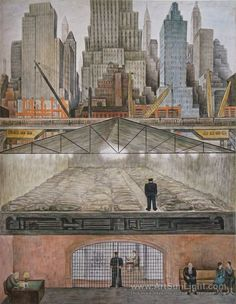 Frozen funds, Fondos congelados - Diego Rivera