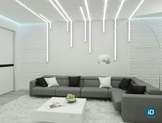 4 Courageous Tips: Contemporary False Ceiling Lamps false ceiling kitchen master bedrooms.False Ceiling With Wood Home contemporary false ceiling design.False Ceiling Design With Wood. Ceiling Design Living Room, False Ceiling Living Room, Bed In Living Room, Ceiling Light Design, Living Room Lighting, Living Room Designs, Bedroom Lighting, Foyer Lighting, Lighting Ideas
