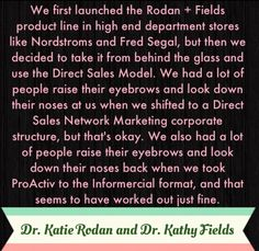 Savvy businesswomen know what's up in the beauty industry. They made billions with ProActiv, now they're doing it again and putting their own name on it! #rodanandfields #beauty #gift #business #stayathomemom #workfromhome #ownyourownbusiness $995 $695 www.msenna.myrandf.biz
