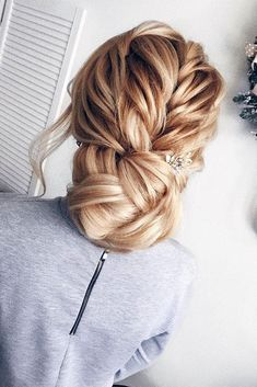 Bridesmaid Updos And#8211; Elegant And Chic Hairstyles ❤ See more: http://www.weddingforward.com/bridesmaid-updos/ #weddingforward #bride #bridal #wedding