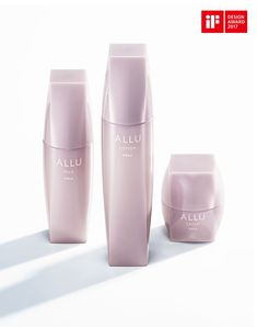 POLA ALLU is a skincare brand that nurtures and arouses the skin. Skincare Packaging, Beauty Packaging, Cosmetic Packaging, Bottle Packaging, Soap Packaging, Packaging Design, Cosmetic Containers, Cosmetic Bottles, Good Beauty Routine