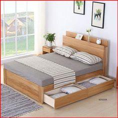 Wardrobe Design Bedroom, Bedroom Bed Design, Bedroom Furniture Design, Modern Bedroom Design, Home Room Design, Bed Furniture, Simple Bed Designs, Bed Designs With Storage, Double Bed Designs