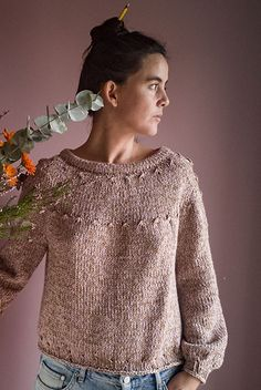 Ravelry: Friday sweater pattern by Carmen Garcia de Mora The Effective Pictures We Offer You About clothes pin crafts A quality picture can tell you many things. You can find the most beautiful pictur Ravelry, Raglan, Pullover Pullover, Striped Long Sleeve Shirt, Sweater Knitting Patterns, Winter Sweaters, Women's Sweaters, Cardigans For Women, Knitwear