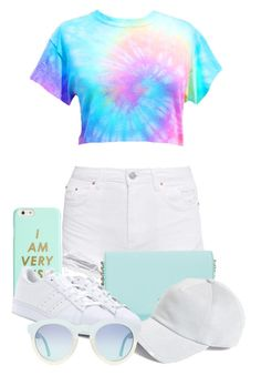 """""""Busy agenda"""" by tigerlily789 ❤ liked on Polyvore featuring Kate Spade, ban.do, adidas and rag & bone"""
