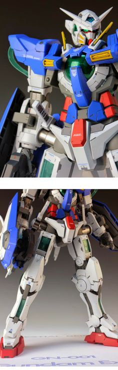 GUNDAM GUY: 1/60 GN-001 Gundam Exia - Customized Build