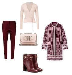 """Cosmina"" by cosmina79 on Polyvore featuring Dorothee Schumacher, ESCADA, Tory Burch and Christian Louboutin"