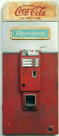 Old Coke machine