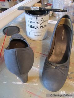 Painted shoes2 zpsb597c40e Painting Shoes with Annie Sloan Chalk Paint™