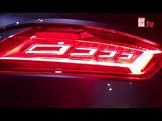 Audi TT RS (CES 2016) - Ausblick auf die Rückleuchten - YouTube