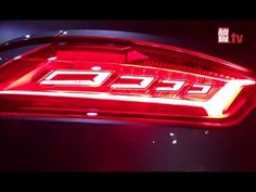 Audi to use OLED taillights in the 2016 TT RS coupe | OLED-Info #OLEDDesign