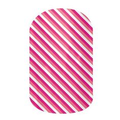 Skinny Pink by Jamberry Nail Wraps. Filled with classic lines and fun polka dots, the Dotted Line collection is perfect to wear with our bolder wraps or wear on their own. Appropriate for any setting, these wraps are an essential part of any nail lover's collection. Lasts up to 2 weeks on fingernails and 4 weeks on toenails.