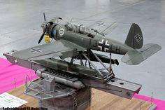 German Arado seaplane on ship launcher (SMW 2011 | RB Model Werx)
