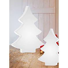 LED-Tannenbaum Modern, Farbwechsler, outdoorgeeignet, Polyethylen, ca. H113 cm Vorderansicht