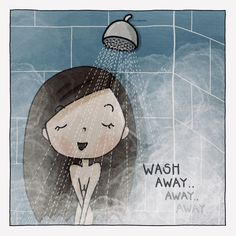 #comics #comic #comicart #comicfun #messages #draw #drawing #art #illustration #colours #colors #figures #life #picture #shower #body #clean #dirt #happy #mood #bathroom Drawing Art, Comic Art, Snoopy, Colours, Messages, Illustrations, Mood, Shower, Comics
