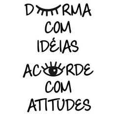 ADESIVO DURMA COM IDEIAS Lettering Tutorial, Positivity, Thoughts, Motivation, Words, Quotes, Instagram Posts, Life, Remover